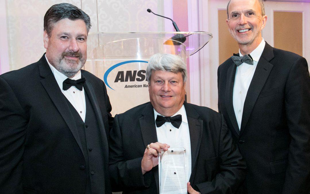 ANSI Presents NCCCO with Inaugural Workforce Development Award