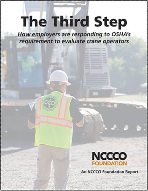 Taking the Third Step: How Are Crane Operators Being Evaluated?